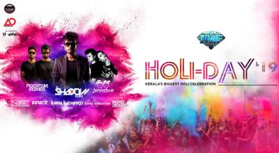 HOLI-DAY 19: Kerala's Biggest Holi Celebration