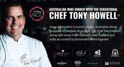 Australian Wine Dinner with Chef Tony Howell