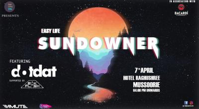 Dotdat live at Bacardi x Sundowners, Mussoorie
