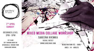 Mixed Media Collage Workshop