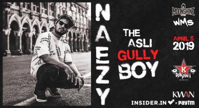 Naezy's Aafat Wapas tour