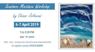 Sea Shore miniature workshop