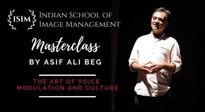 Masterclass on The Art of Voice Modulation and Culture by Asif Ail Beg