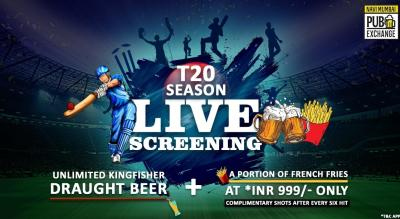 Cricket Live Screening