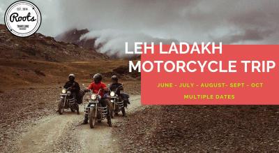 Leh Ladakh Motorcycle Tour 5 Days