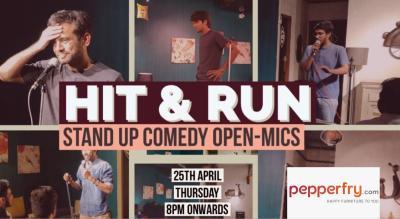 Hit & Run 45.0 - Open mic