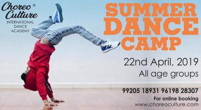 Choreo Culture Summer Camp 2019