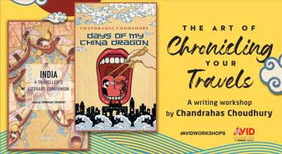 The Art of Travel Writing with Chandrahas Choudhury