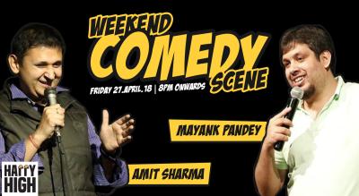 Weekend Comedy Scene ft Amit Sharma and Mayank Pandey