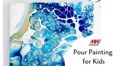 Pour Painting for kids