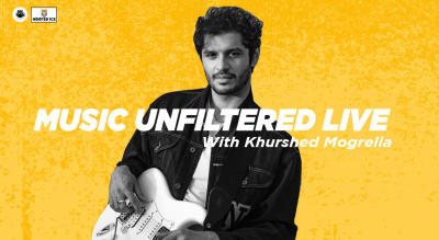 Music Unfiltered Live with Khurshed  Mogrelia