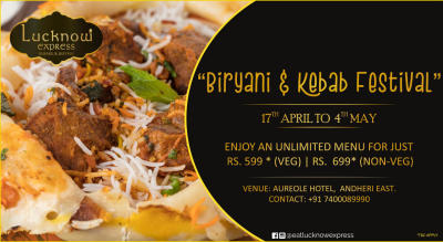 Lucknow Express presents Biryani & Kebab Festival at Hotel Aureole