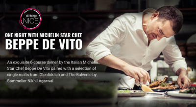 One Night with Michelin Star Chef Beppe De Vito