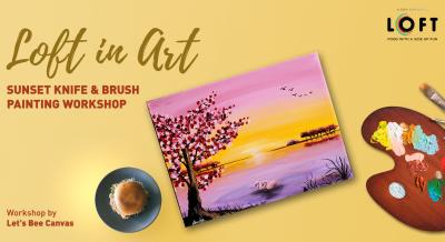 Sunset Knife & Brush Painting Workshop