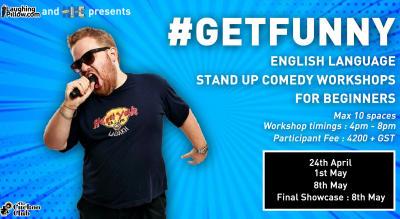 #GETFUNNY Standup Comedy Workshops