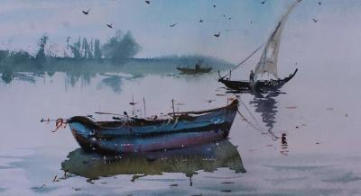 Watercolour Painting Workshop @ Pune By Bipin Patel