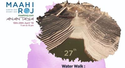 Nahargarh Water Walk with water expert and storyteller, Neeraj Doshi