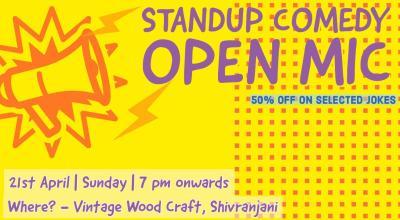 Yellow Jokes - Standup comedy open mic