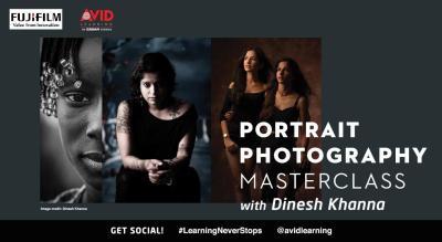 Portrait Photography Masterclass with Dinesh Khanna