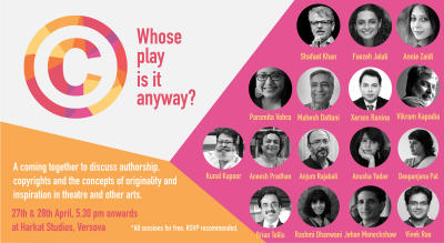 Whose Play is it anyway? - copyrights, originality and inspiration
