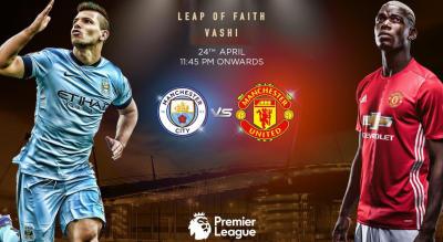 Manchester Derby | Mega Screening Vashi