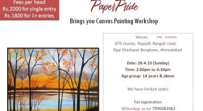 Paper Pride - Canvas Painting Workshop