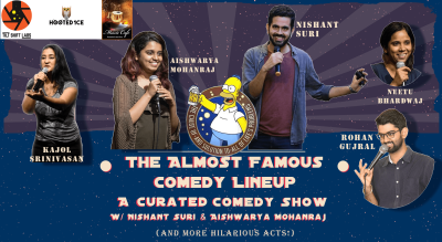 The Almost Famous Comedy Lineup w/ Nishant & Aishwarya