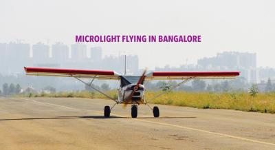 Microlight Flying