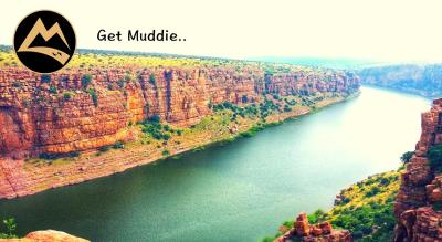 The Gorgeous Gandikota - Camping with Coracle in Penna River  Muddie Trails