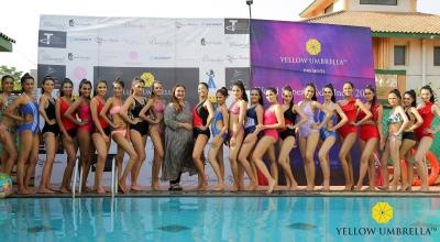 World Supermodel Pool Party