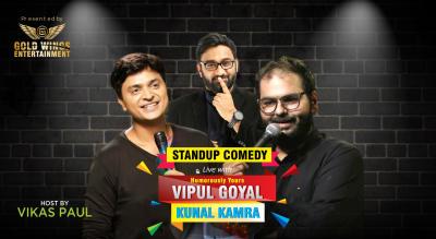 Vipul Goyal & Kunal Kamra Standup Comedy
