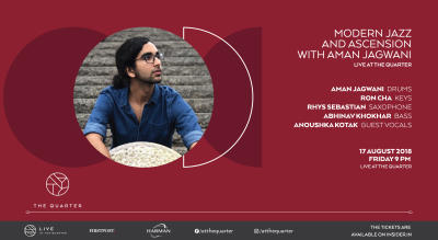 Modern Jazz and Ascension with Aman Jagwani