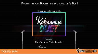 Tape A Tale Storytelling - Kahaaniya Duet