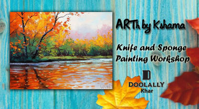 Knife and Sponge Painting Workshop- ARTh by Kshama