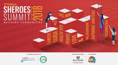 SHEROES Summit 2018 – Building Communities, Bangalore