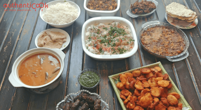Authenticook Presents Home-Cooked Sindhi Meal