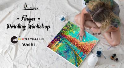 A Finger Painting Workshop at Vashi by Paintology