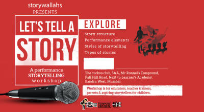 Art of Storytelling: A performance Storytelling Workshop