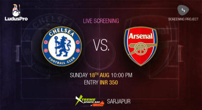 Chelsea v Arsenal | London Derby Screening Bangalore