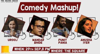 Comedy Mashup! hosted by Urooj Ashfaq