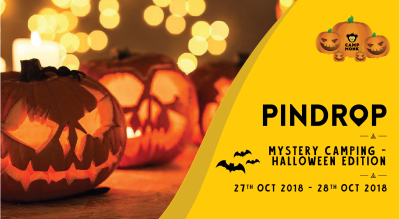 Pindrop Mystery Camp - Halloween Edition