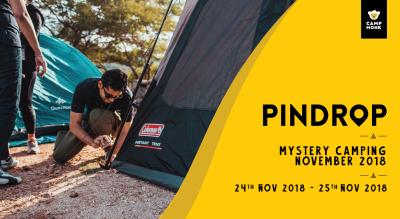 Pindrop Mystery Camp - November 2018