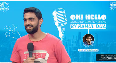 Stand Up Comedy by Rahul Dua- Oh Hello!