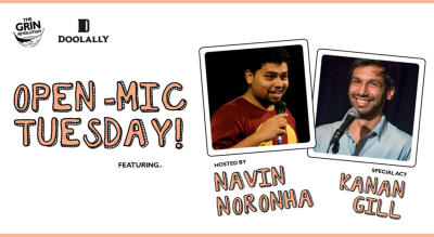 Grin Revolution: Open Mic Tuesday
