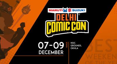 Sign up for updates on Delhi Comic Con, 2018!