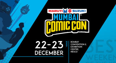 Sign up for updates on Mumbai Comic Con, 2018!