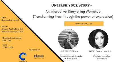 Unleash Your Story - An Interactive Storytelling Workshop