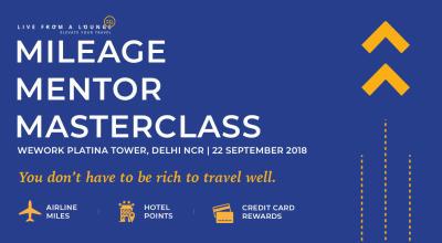 Mileage Mentor MasterClass, Delhi