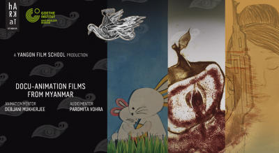 Animation shorts from Myanmar: Stand up for Women - Stand Up for Peace: