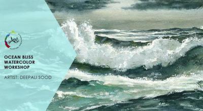 Ocean Bliss Watercolor Workshop
